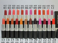 airmail covers - Super Quality Genuine Satin Lipstick boxed G with english name moisturizing creme lip cover pencil makeup free airmail shipping