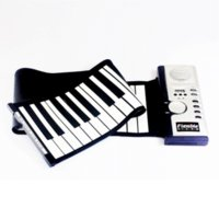 Wholesale 61 key MIDI Flexible Soft keyboard piano Musical Instrument silicone electronic music instrument guitar instrument midi