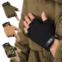 best racing gloves - Best Quality non slip sport cycling Tactical gloves Bike Bicycle Racing Riding Breathable Half Finger Anti slip gloves Glove WOLFBIKE