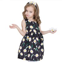 Wholesale Kids Clothes Girls Dress Flower Style Children Clothing Fashion Party Dress for Girls