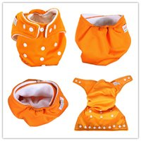 Wholesale Reusable Baby Infant Nappy Cloth Diapers Soft Covers Washable Free Size Adjustable Fraldas Winter Summer Version