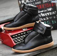 Wholesale High Top Sneakers Men Designer Shoes Fashion Casual Men Shoes Flat Shoes Leisure Fashionable Man Spring Autumn New