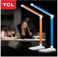 Wholesale TCL lighting LED smart desk lamp variable light color lamp eye protection of high quality touch control student desk lamp