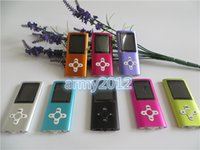 Wholesale 1 th mp3 mp4 Player with TF card slot support g g gb ebook voice recoder FM function With USB GOOD Earphones Retail Box FREE DHL