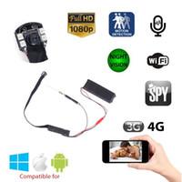 Wholesale 2016 New Arrival HD Wifi Spy Hidden Mini Night Vision Camera P Wirless CCTV Security Mini camera IR Micro Cameras