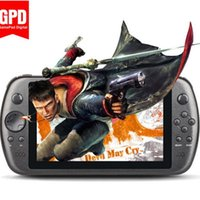 Wholesale Original GPD Q9 quot Quad Core GB GB Player tablet RK3288 gamepad Android G RAM GB IPS Handheld Game Players