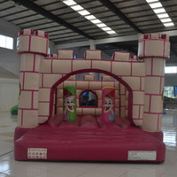 backyard furniture - Girl toy pink inflatable bouncer castle garden furniture inflatable bounce house for kid made in China