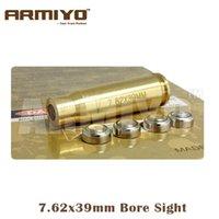 Wholesale Armiyo Tactical Brass CAL x39mm Cartridge Red Laser Rifle Bore Sight Hunting Gun Optics