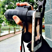 Wholesale 35 high powered night vision Monoculars cell phone telescope camera HD with holder H210783