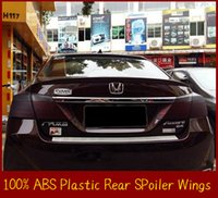 accord rear spoiler - Good Quality Rear Spoiler Wings For Honda Accord Rear Trunk Spoiler Primer Color Without Paint Factory Wholesales