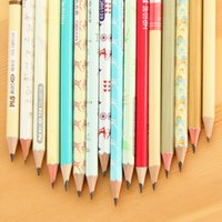 advances painting - set stationery supplies cute advanced wooden pencil for school kids prize gifts writing painting Oulm