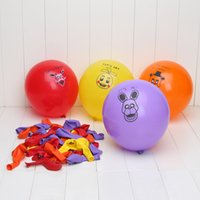 balloons mix - 100pcs Five Nights At Freddy s FNAF Party Balloon colors mixed ballons figure toys