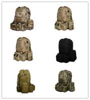 trek - Tactical Men Women Outdoor Tactical Backpack Trekking Sport Travel Rucksacks Camping Hiking Trekking Camouflage Bag