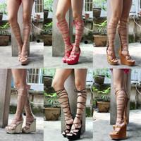 best designer ties - Women Boots Flat Platform Gladiator Boot Sandals Best Seller Waterproof Fish Mouth Roman Toe Loop Beach Designer Sexy Nightclub