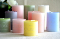 Wholesale SPA salon supply Incense Candle smoke free candle Colouful Different Flavors g g g