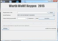 active codes - Wurth WoW R2 Software Keygen for WOW Snooper Code Caculator Software Free Active