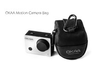 bag pack for camera - Sports Camera Bag Mini Black Nylon Packs Action Camera Accessories for Sports Camera Hot SaleSuitable for GoPro SJCAM XiaoYi Action