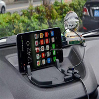 auto note pad - Car mount Holder Dashboard Pad Stand Holder with Magnet Connector and Cable for iPhone s Samsung s6 note Auto bracket
