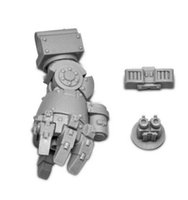 arm pattern - Contemptor Pattern Close Combat Arm Fist