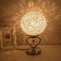 Wholesale Bedroom bedside lamp modern minimalist Ikea rattan lamp personalized creative warm wedding wedding night light decoration