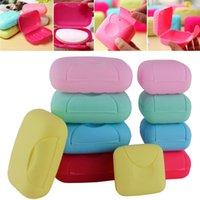 Wholesale L S Home Bathroom Shower Travel Hiking Soap Box Dish Plate Holder Case Container