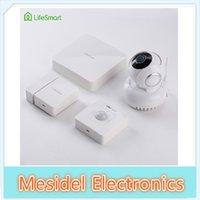 Wholesale LifeSmart Home Smart Security Automation Kit Wireless Remote Control WIFI IP Plug Door Sensor Motion Detector Combination System