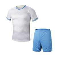 Cheap 16 17 Sportswear Summer Men Running wear sets football soccer team kits Breathable Moisture Wicking Quick dry Short sleeve jersey and shorts