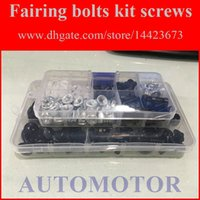Wholesale Fairing Screw Bolts Kit black For SUZUKI GSX R750 GSXR750 GSXR Fairings Bolts Screws