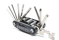 Wholesale Multifunctional bicycle repair tools in one Screwdriver Wrench Bike Tool Kit