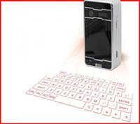 Wholesale Bluetooth USB wireless laser keyboard mouse speaker Portable for Ipad Iphone Andorie IOS cellphoneTablet PC laptop Projector