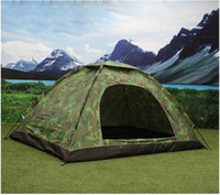 adventurer camps - Outdoor Camping Tent Adventurers Travel Single Or Double Tent Outdoor Climbing Camping Camo Tents Sell Like Hot Cakes