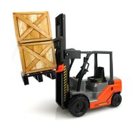 big lift trucks - Large engineering vehicle forklift inertia car lifts toys car for children plastic toy truck engineering diecast toys for boy kids Gif