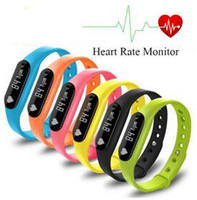 Wholesale Fitness Tracker C6 Smart Wristband Bluetooth Heart Rate Monitor Call SMS Reminder IP65 Waterproof Mini Band with OLED Screen DHL