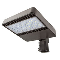 Wholesale ETL DLC certified LED shoebox pole light W stocked in USA warehouse with year warranty slip fitter horizontal mounting arms