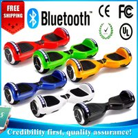 Wholesale 6 INCH Electric hoverboard bluetooth wheels bluetoooth Balance Electric hoverboard Scooter Smart HoverBoard Unicycle Two Wheels Scooter