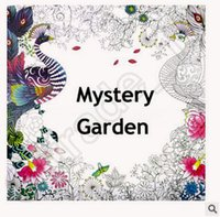 beauty tale - 500pcs CCA4006 Creative Coloring Book Mystery Garden The Enchanted Forest Beauty And The Beast FAIRY TALES AND MAGICAL DREAMS Coloring Books