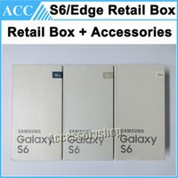 android factory settings - Factory OEM Full Set Retail Box For Samsung Galaxy S6 S6 Edge G920 G920F G925 G925F Retail Box Wall Charger USB Cable Headset