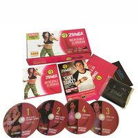 Wholesale Zum Incredible Slimdown Fitness System DVD Total Body Workout Dance Exercise US Version