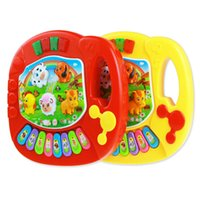 Wholesale Hot Selling New Baby Kids Musical Educational Piano Animal Farm Developmental Music Toy