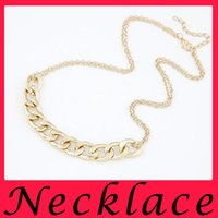 american tennis stars - Hot Sell the Same Style as Star Electroplate Gold Double Chains Necklace European and American New Fashion