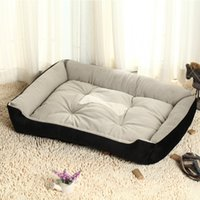 Wholesale Pet house Warm Pad Puppy Kennel bed Cat Dog Nesting Fleece Mat Bed Large