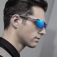 accessories mixing box - Aluminum Magnesium Sunglasses Polarized Sports Men Coating Mirror Driving Sun Glasses oculos Male Eyewear Accessories Retail box