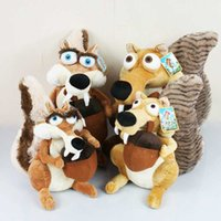 age birthday present - Great Quality Ice Age Lovely Scrat Scratte Animal CM Plush Toy Present For Children Baby Birthday Holiday Gift