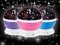 animals projections - LED Rotating Star projection Lamp Monkey Moon Stars Night Light Christmas Gift For Children Patterns can selected