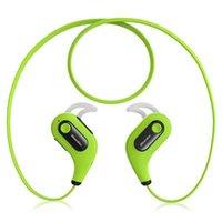 Wholesale Bluedio S6 Wireless Bluetooth Sports Headset HIFI Stereo Music Earphone Earbuds Sweatproof Sport Headphones for iPhone headphone