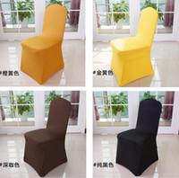 banquet sofa - Wedding chair covers hotel sofa chair covers universal spandex sofa chair covers flat Banquet Chair covers Home use Chair Cover