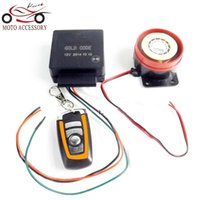 Wholesale Motorcycle Scooter Autobike Anti theft Security Alarm System V Remote Control Engine Start P15