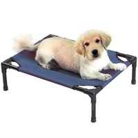 New Indoor / Outdoor Portable Bed Pet sommeil Elevated Camping Lit Chien Chat 22