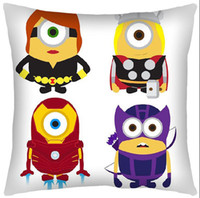 anime pillow covers - anime New Arrivals Despicable me Zippered Throw Hold pillow Cover Cushion x40cm one quot single quot