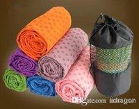 Wholesale Hot Health Care Skidless Yoga Towel Yoga Mat Non slip Yoga Mats for Fitness Yoga Blanket